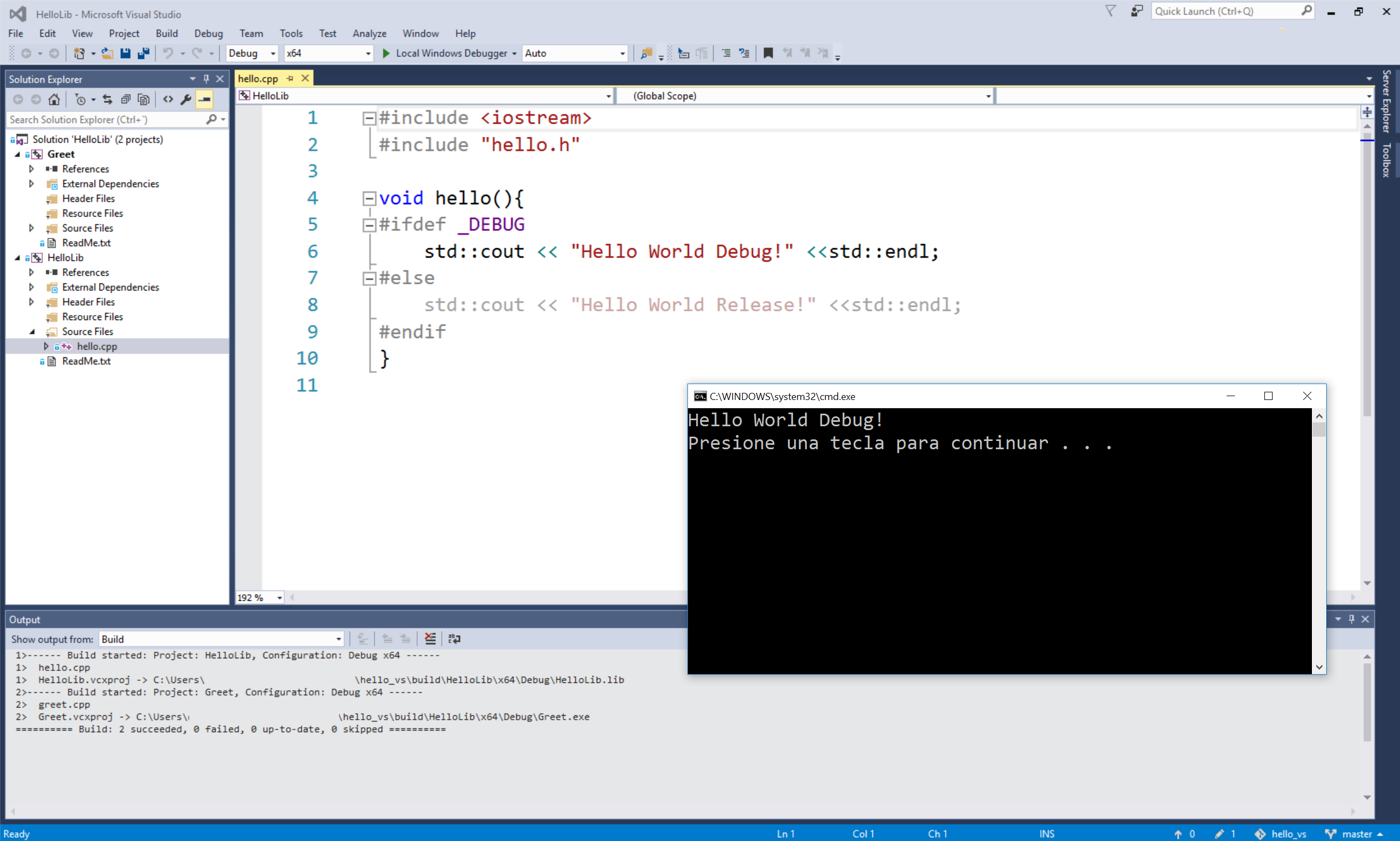 C/C++ Binary Package Management for Visual Studio