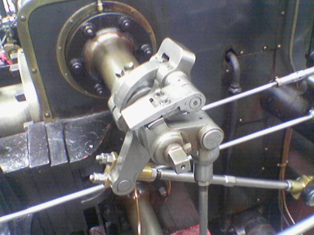 A color picture of a steam engine