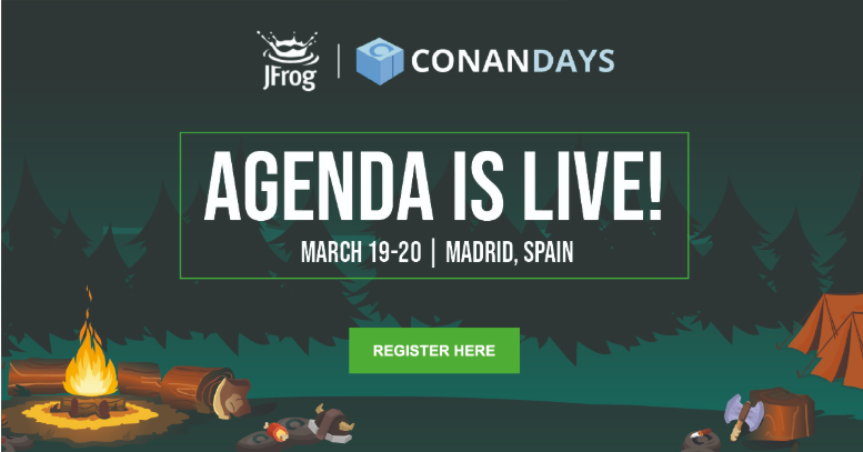 ConanDays agenda is live